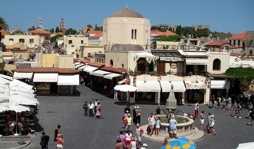 Старый город. Родос