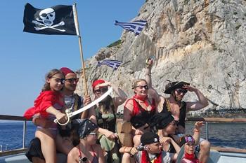 Пиратское путешествие по бухтам Родоса, Родос