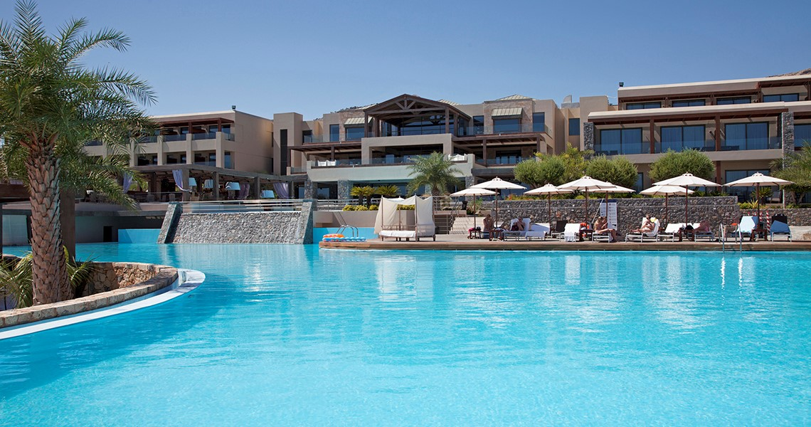 Aquagrand Of Lindos Exclusive Deluxe Resort Luxury Hotel On Rodos Greece