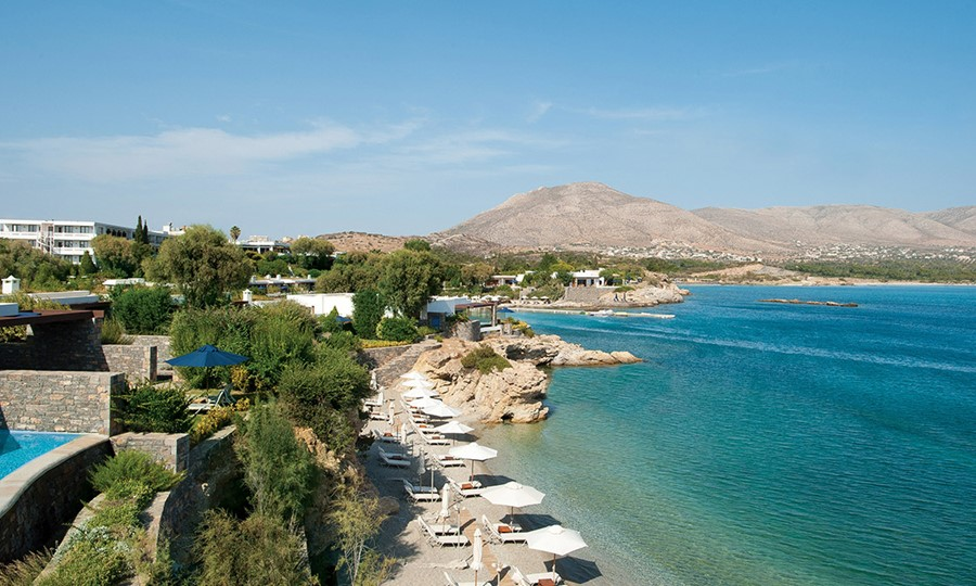 Private Beaches in Grand Resort Lagonissi