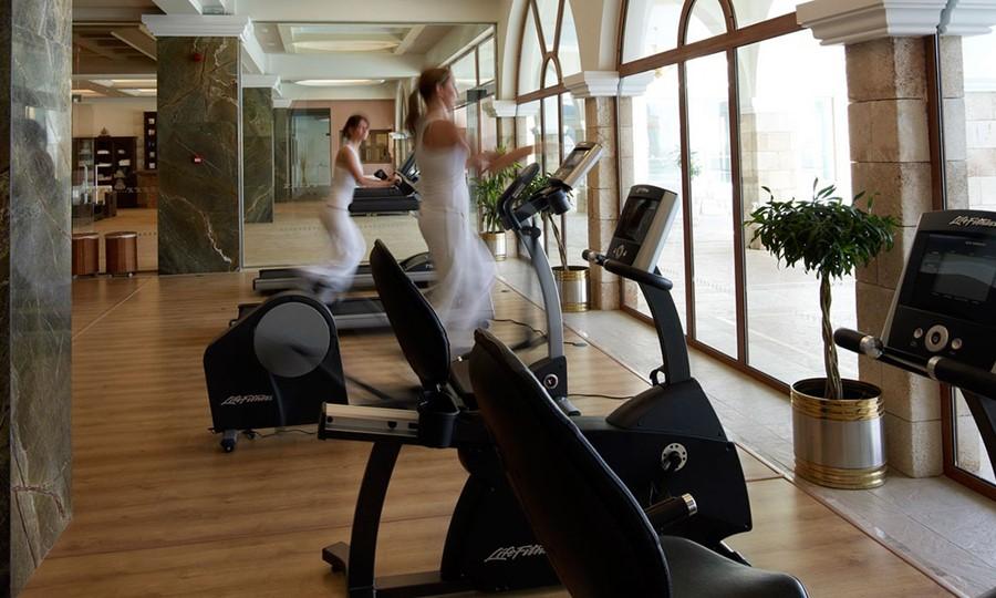 Fitness in Atrium Prestige Thalasso Spa Resort and Villas