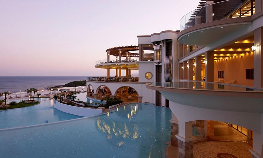 Exterior view in  Atrium Prestige Thalasso Spa Resort and Villas