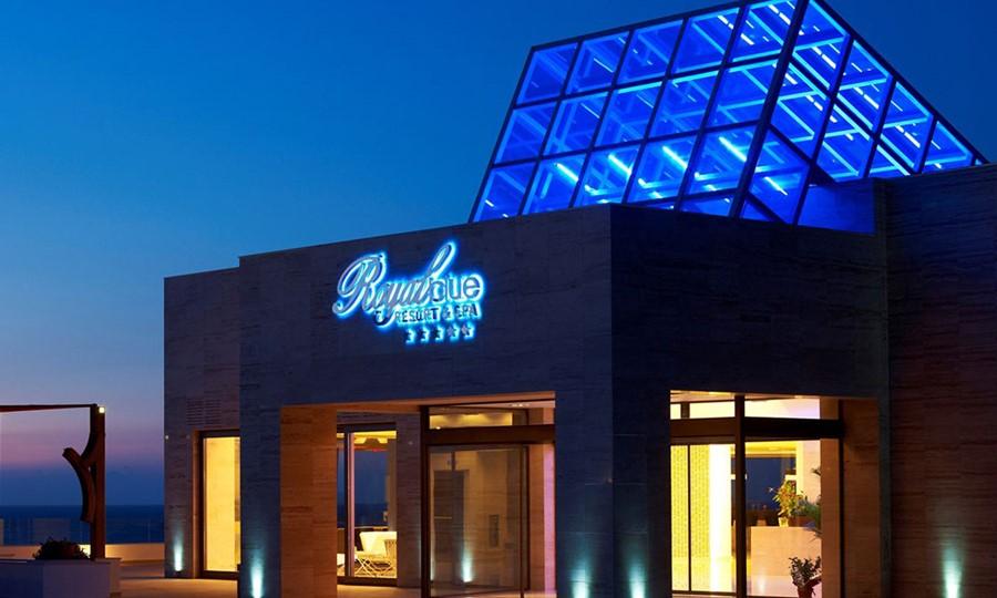 Exterior view in Sensimar Royal Blue Resort & Spa