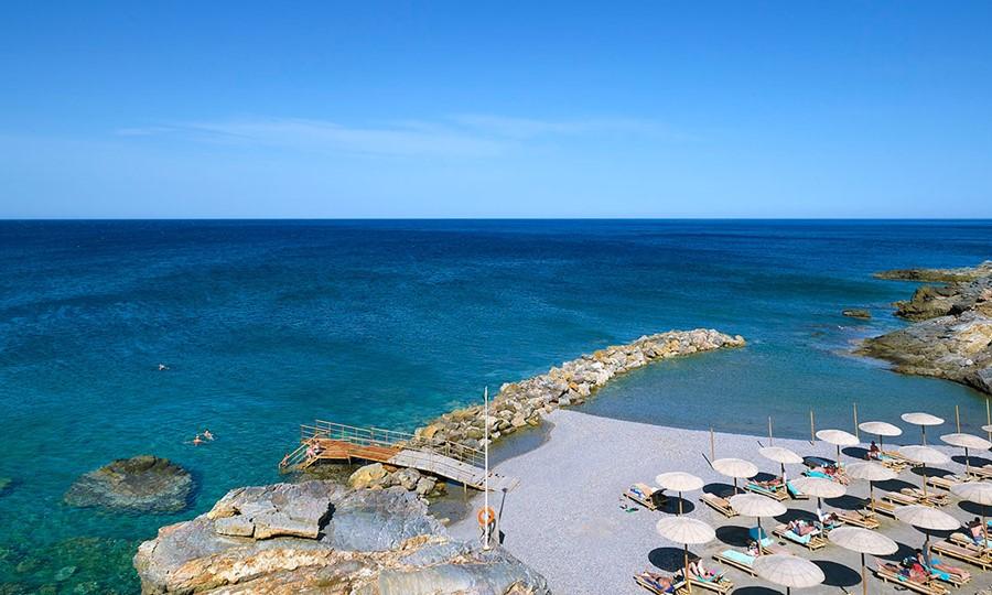 Beach in Sensimar Royal Blue Resort & Spa