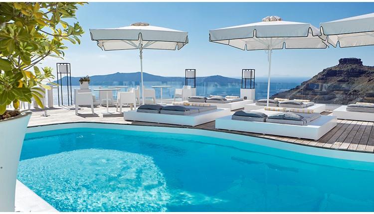 Sunrocks Hotel, Санторини