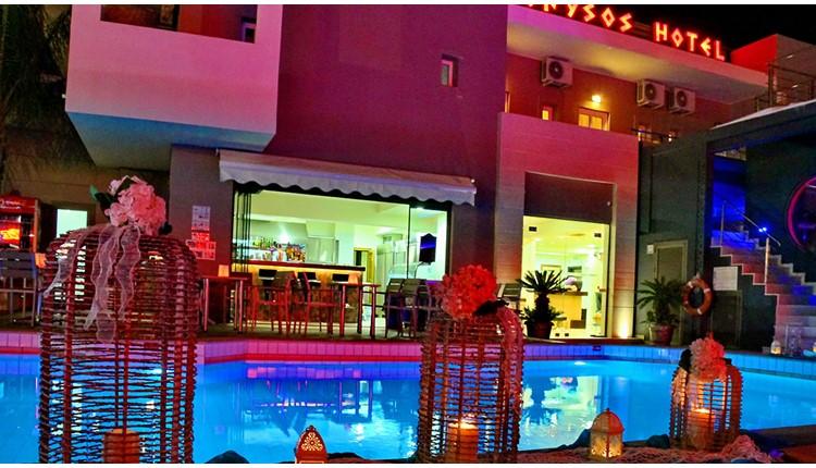 Dionyssos Hotel, Крит