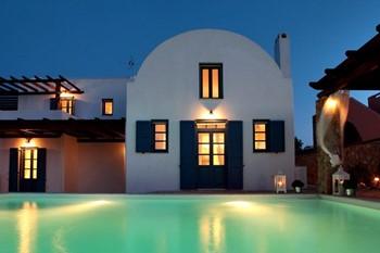 Villa Fantasy, Санторини