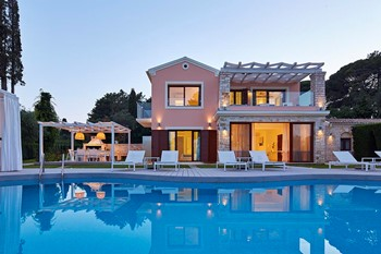 S and O Villas, Корфу