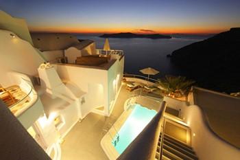 Ikastikies Elegant Suites, Санторини