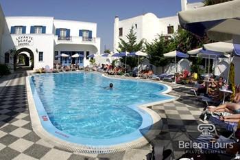 Levante Beach Hotel, Санторини