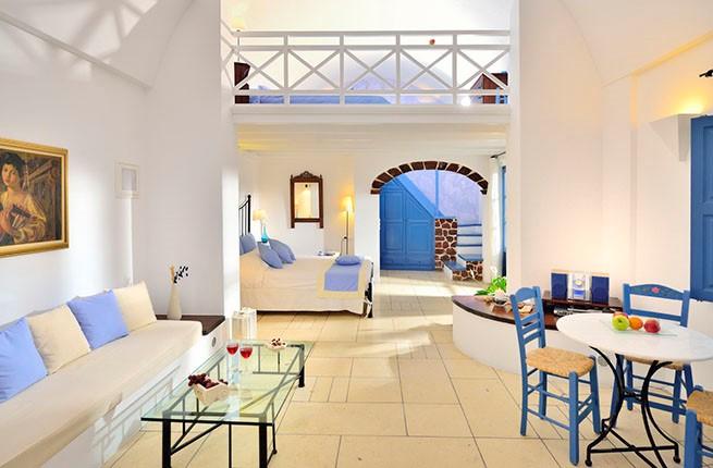 Tamarix Del Mar Suites Hotel, Санторини
