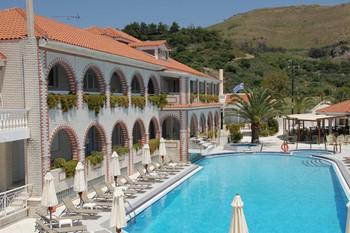 Meandros Hotel, Закинф
