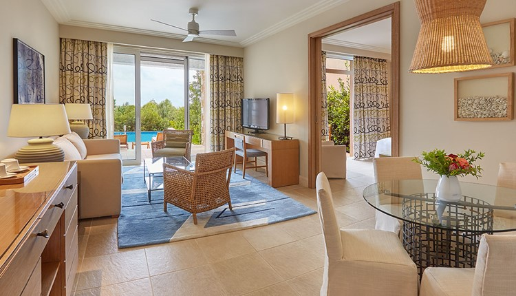Premium Infinity Suite Sea Front View and Individual Pool