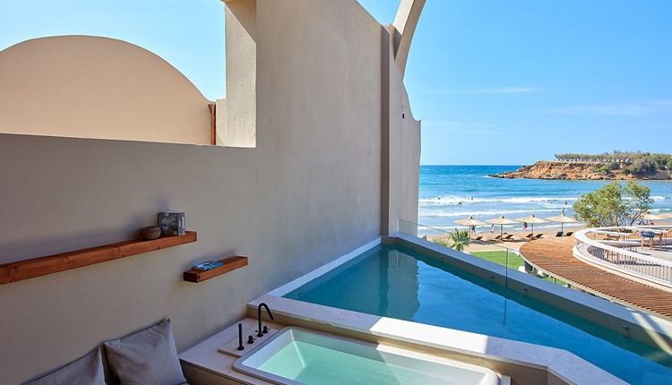 Sublime Loft, Sea View with Plunge Pool