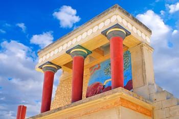 Кносский дворец и Лабиринт Минотавра , Крит