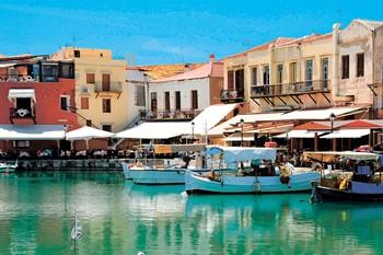 Город Ретимно и озеро Курнас, Крит