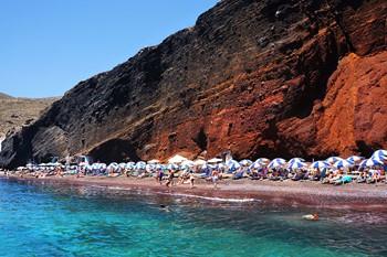 Санторини (Пляж), Крит