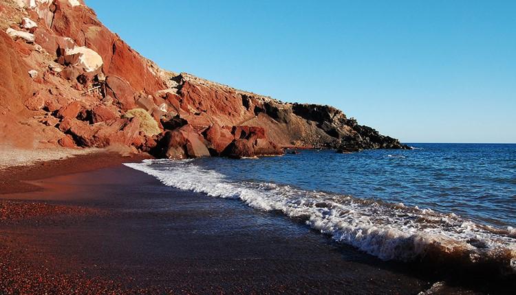 Санторини (Пляж), Санторини