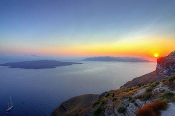 Круиз - Санторини (Вулкан), Крит