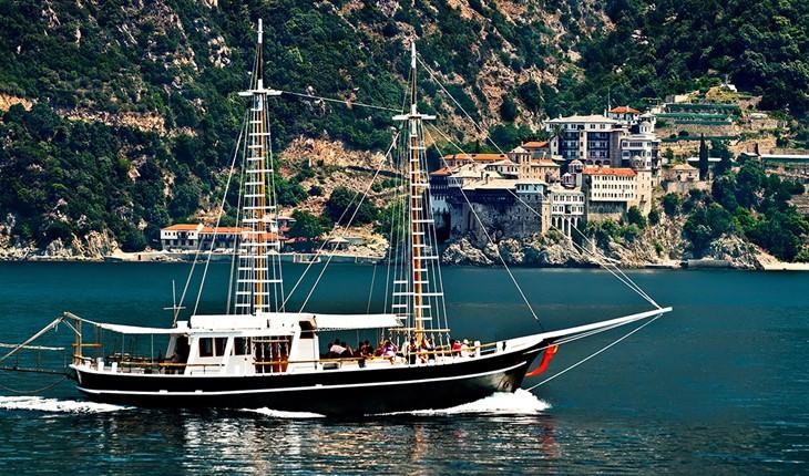 Pilgrimage Tour to the Holy Mountain of Mount Athos (1 day), Halkidiki