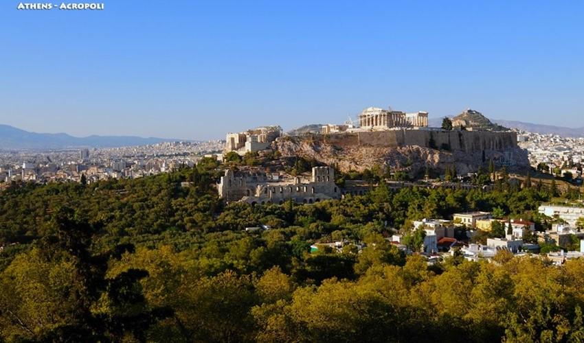 Афинский Акрополь. Фото - Хариса Витулкаса