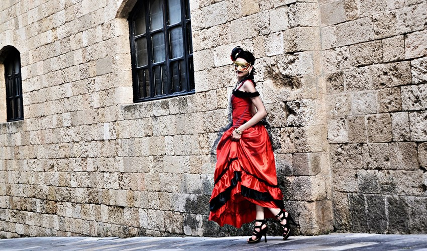 "Свадебное предложение ""Венецианский карнавал"" на Родосе"