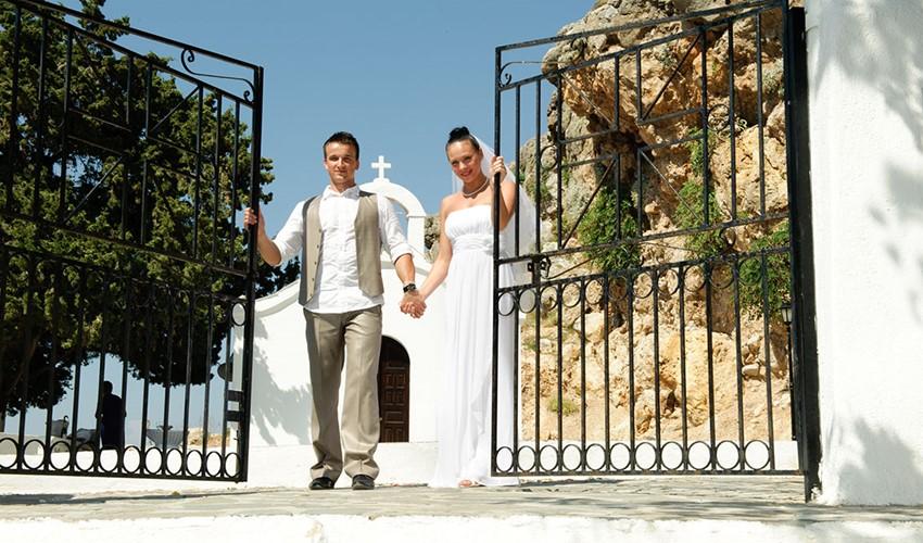 Oфициальное бракосочетание на Родосе