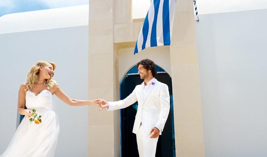 Oфициальное бракосочетание в Греции на острове Кос
