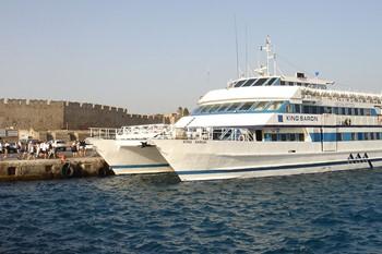 Остров Сими на катамаране с купанием, Родос