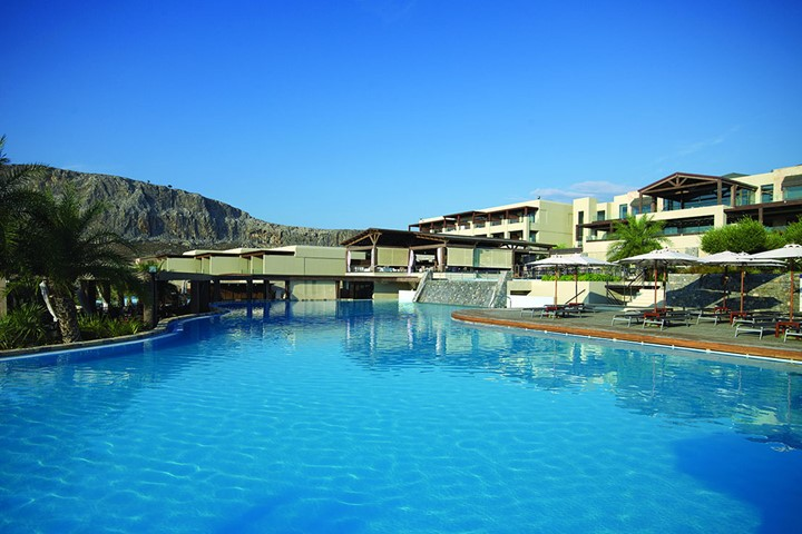 Aquagrand of Lindos Exclusive Deluxe Resort, Rodos