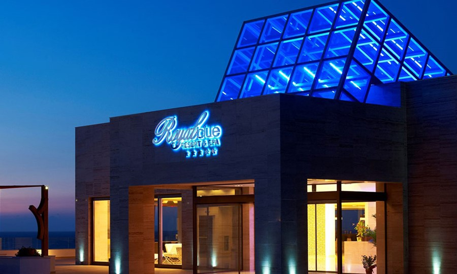 Exterior view in Sensimar Royal Blue Resort & Spa