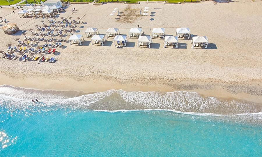 Пляж в Creta Palace