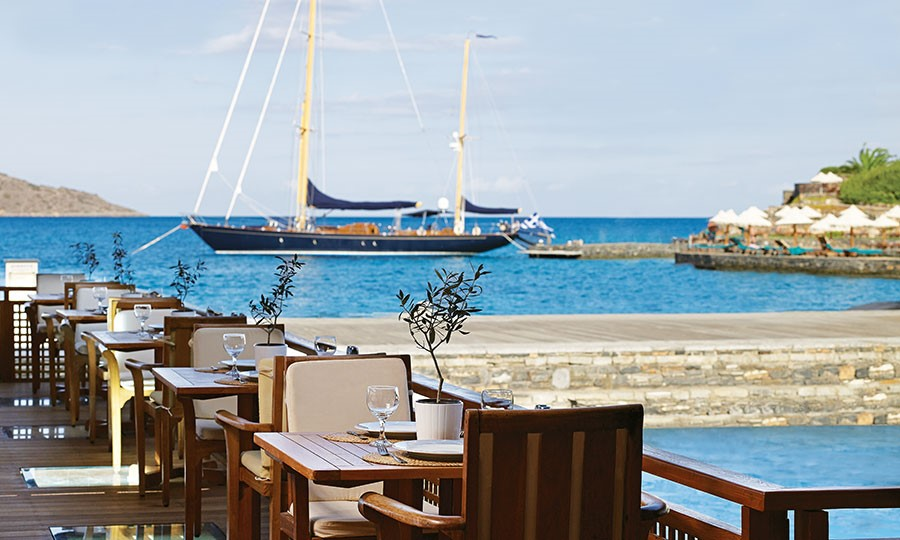 Porto elounda GOLF & SPA RESORT. Odysseus Restaurant
