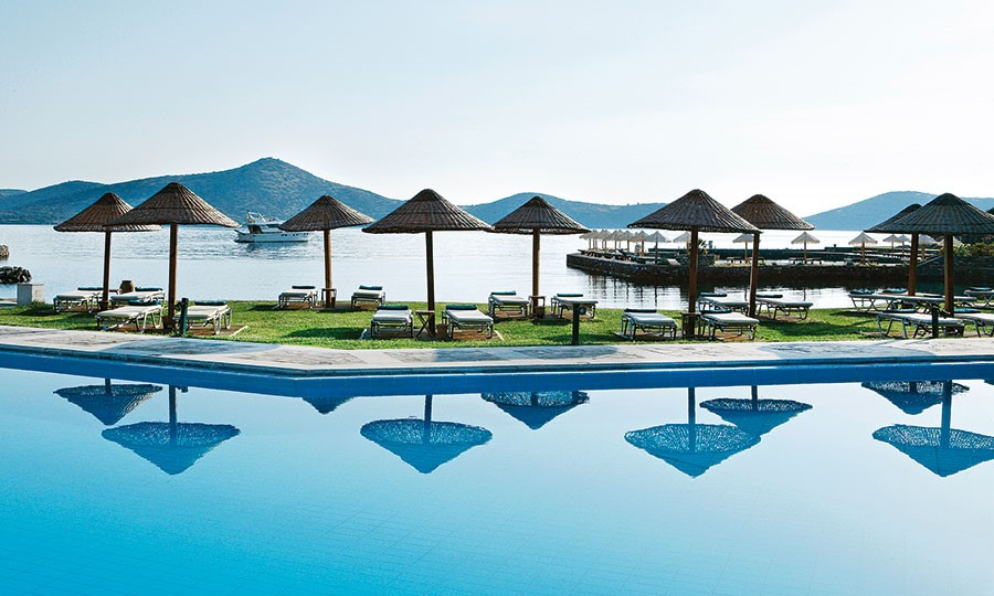 Porto elounda GOLF & SPA RESORT. Основной ресторан
