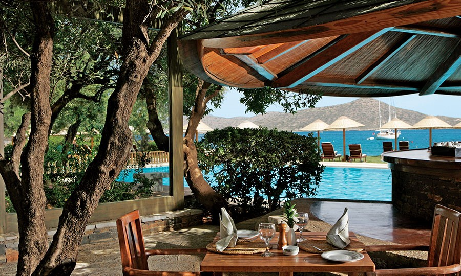 Porto elounda GOLF & SPA RESORT. Ресторан Aglio e Olio