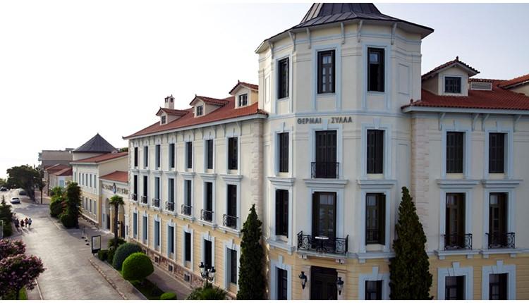 Thermae Sylla Spa Wellness Hotel, Эвбея