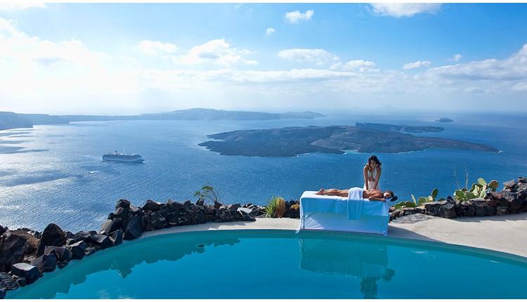 Honeymoon Petra Villas, Санторини