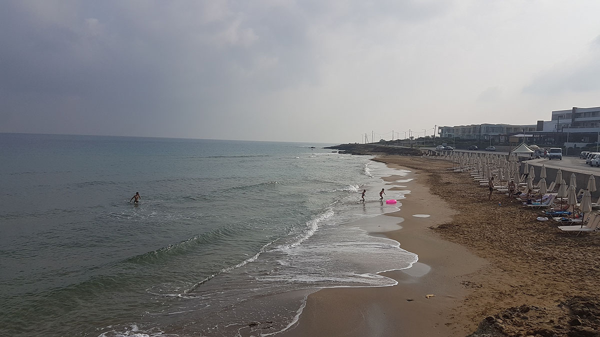 фото пляжа отеля каисса
