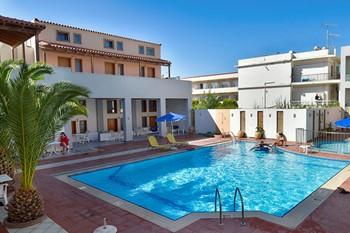 Flisvos Beach Hotel Rethymno, Крит
