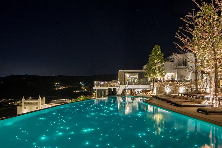Myconian Utopia Resort, Миконос