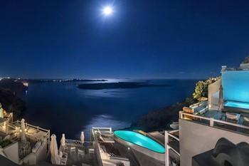Aqua Luxury Suites, Санторини