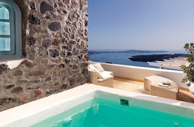 Tholos Resort, Санторини