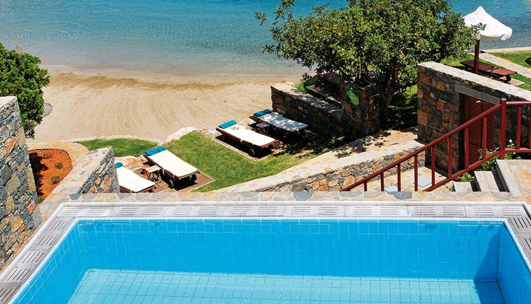 Junior Suite Beach Front Private Pool