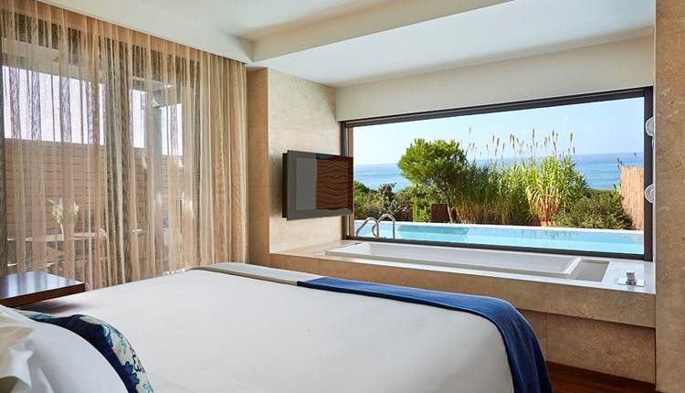 Premium Grand Infinity Suite Sea Front View with Private Pool