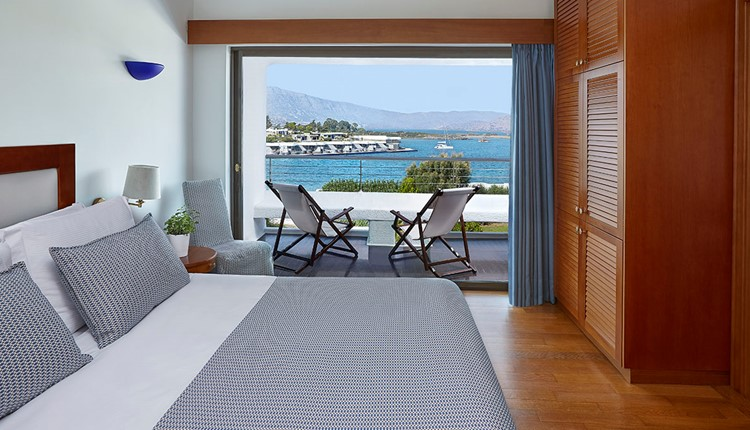 Classic Room Sea View Elounda Building