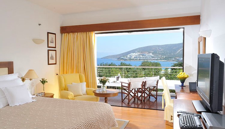 Classic Room Sea View Elounda Building for Single Use