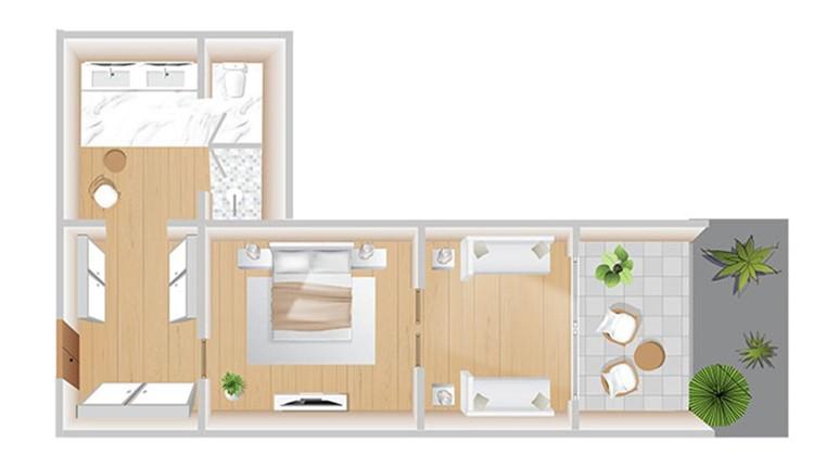 Boshcheto Family Suite