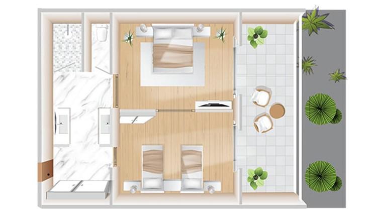 Boshcheto Grand family Suite