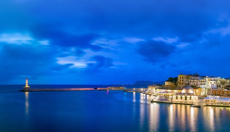 Вечерняя Ханья, Крит