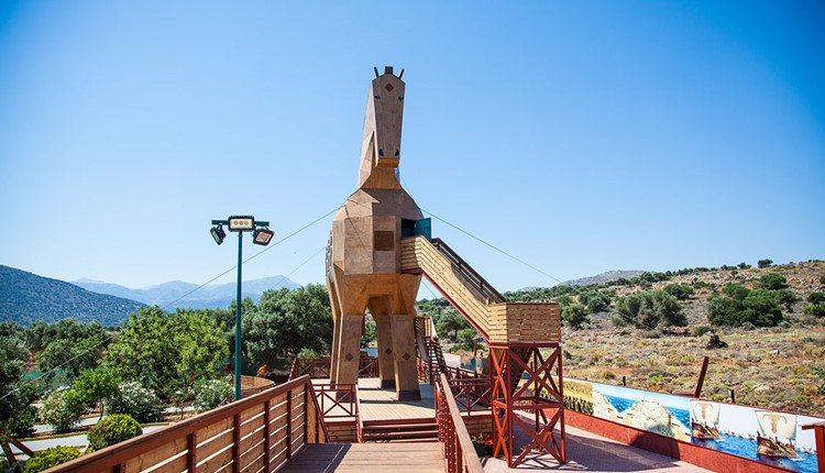 Веселые каникулы, Крит